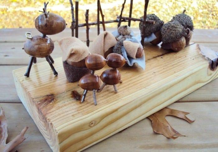 Acorn Nativity