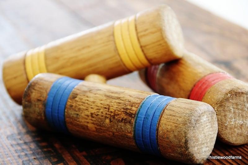 croquet mallet