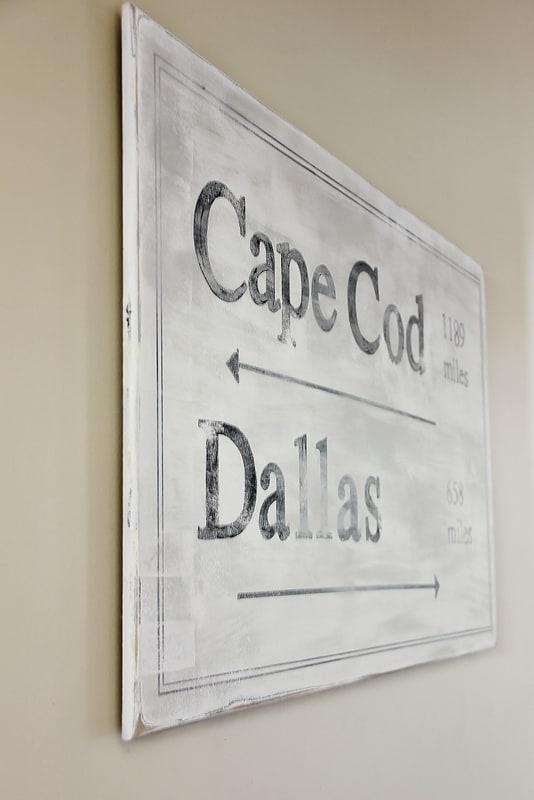 Cape Cod Sign