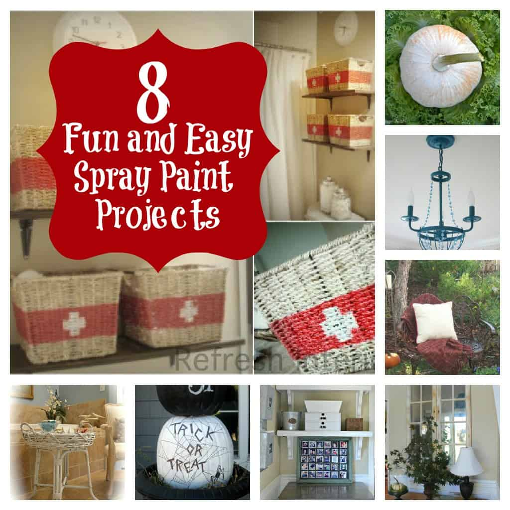 8 Fun And Easy Spray Paint Projects Thistlewood Farm