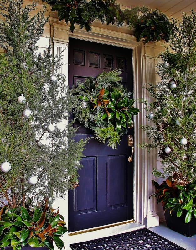 Front Door Christmas