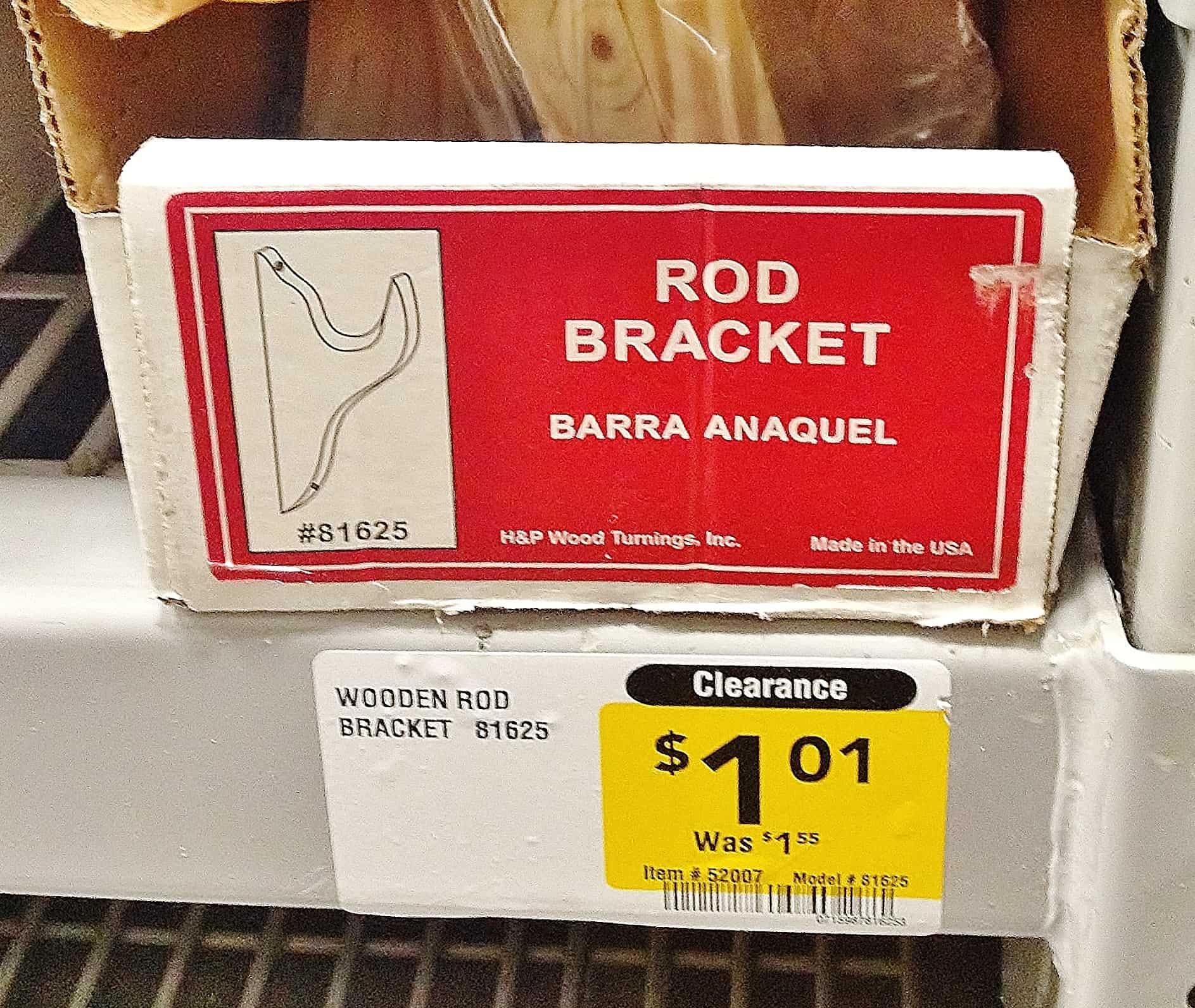 Rod Bracket