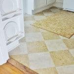 Peel-and-stick-floor