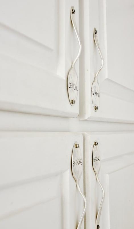 Spoon-door-handles