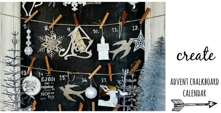 Chalkboard Advent Calendar