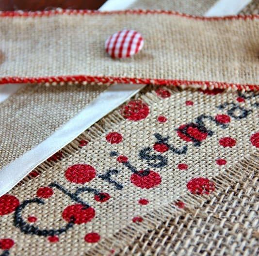 printed-burlap-ribbon-craft