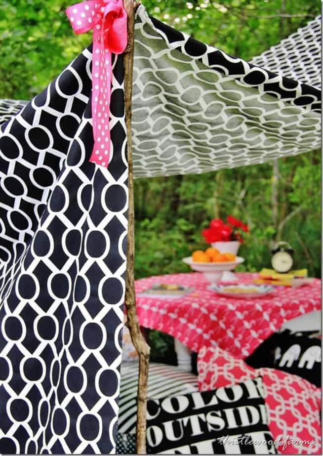 how to decorate outdoors