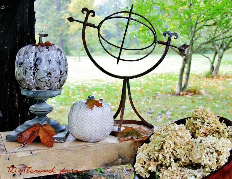 Decorative Pumpkin Challenge Thistlewood
