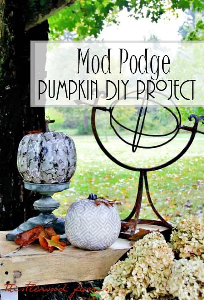 Thistlewood Decorative Pumpkin Challenge