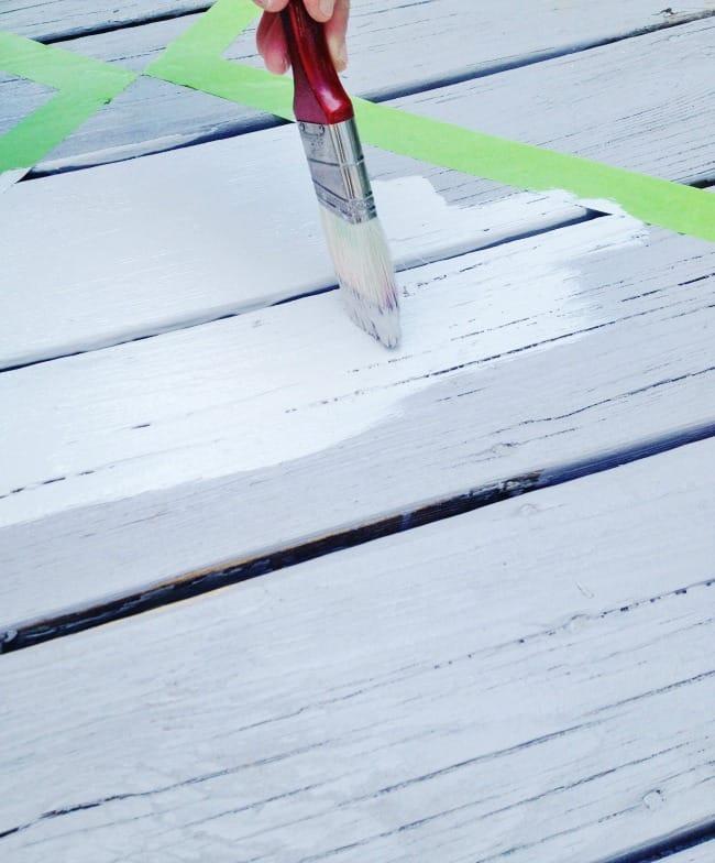 diy porch painting