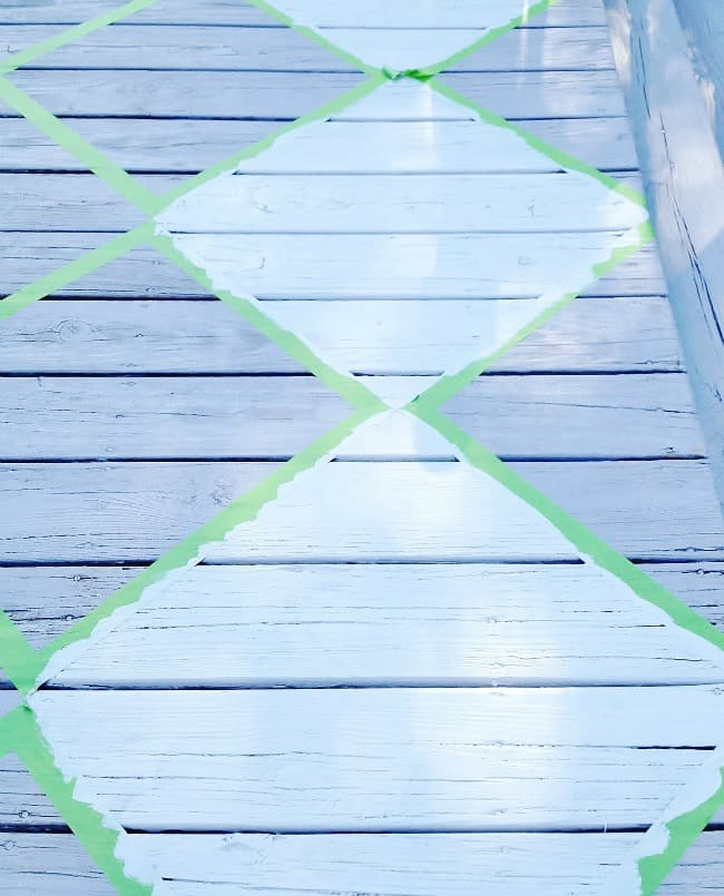 painted porch diy project how to