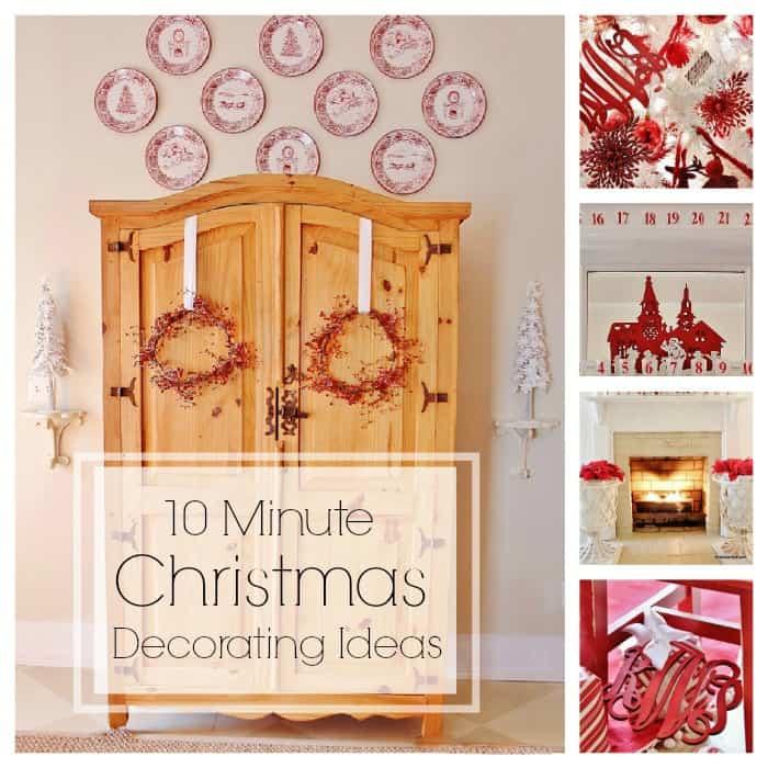 Ten Minute Decorating Ideas