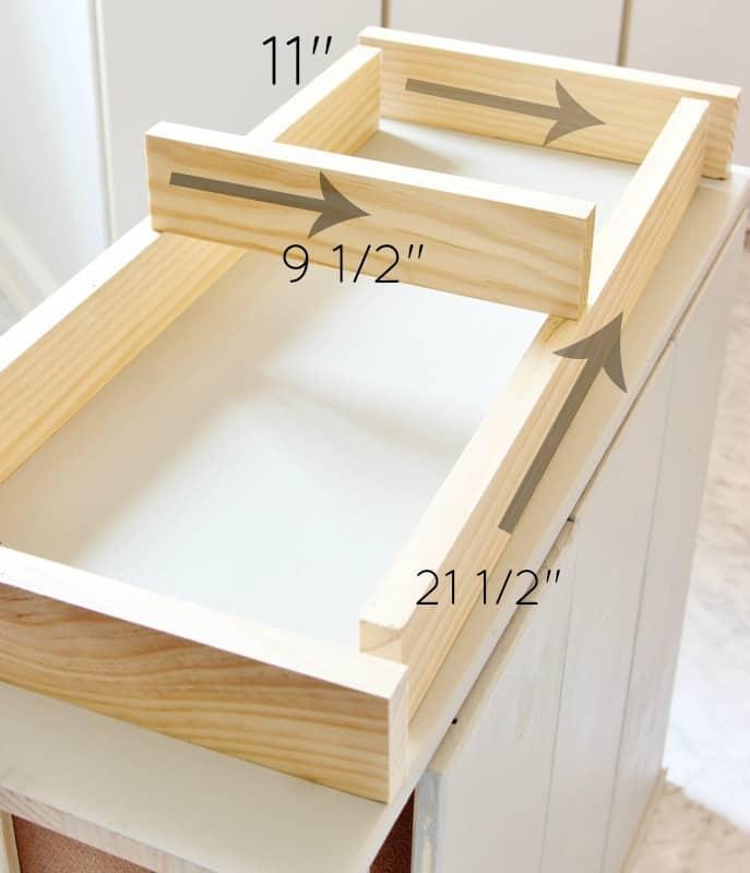 IKEA Dresser Hack DIY Dimensions