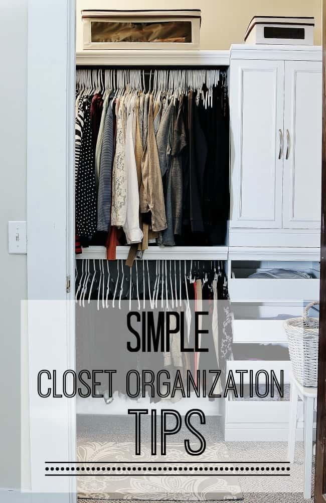 easy closet organization ideas - Easy Closet Organization Tips Thistlewood Farm
