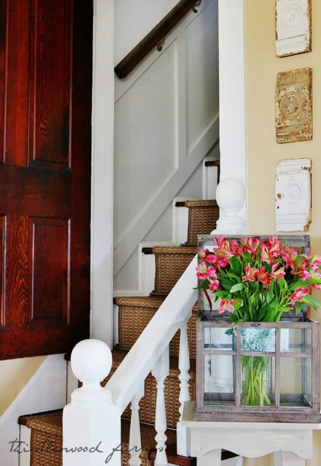 how to decorate with flowers