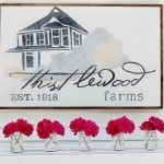 diy how to paint a wood sign