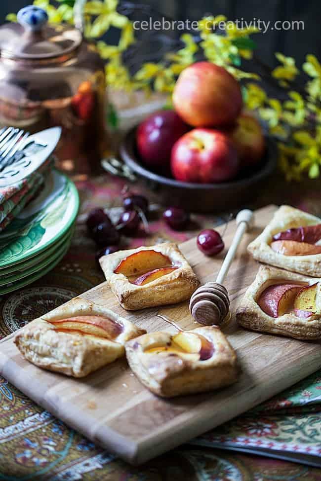 nectarine tart open table