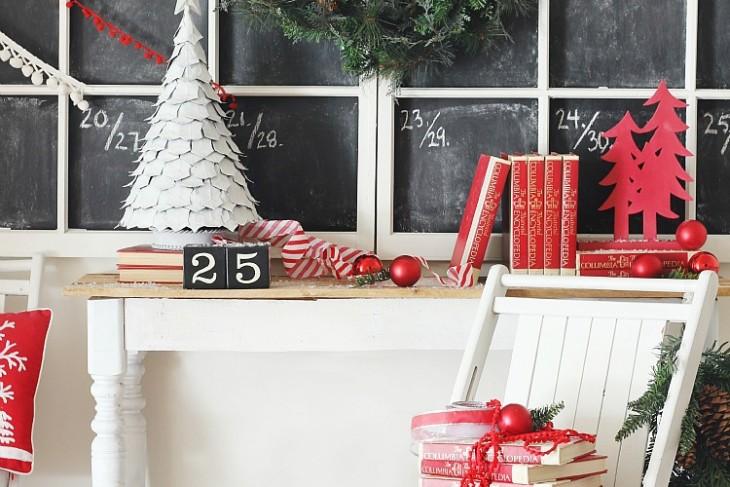 DIY Giant Chalkboard Calendar