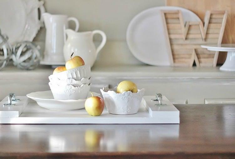 DIY Breakfast Tray How To