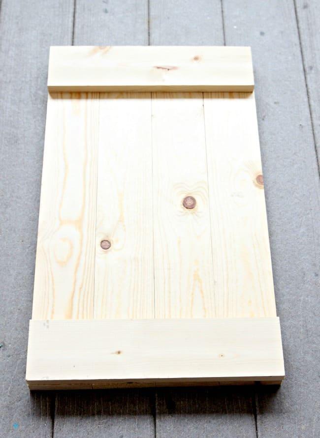 DIY Tray project wood