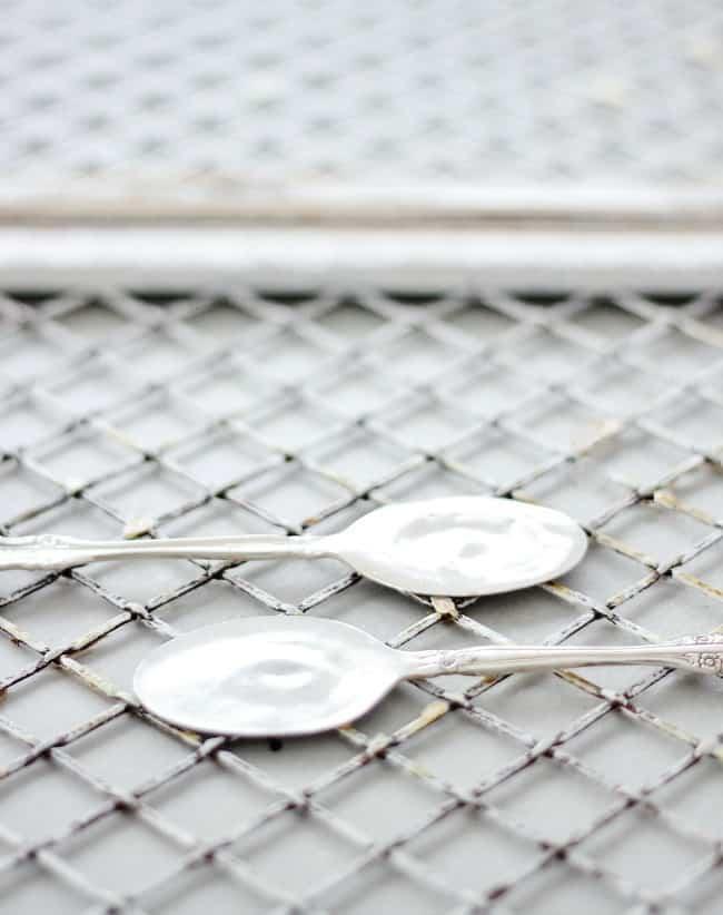 flattened silverplate