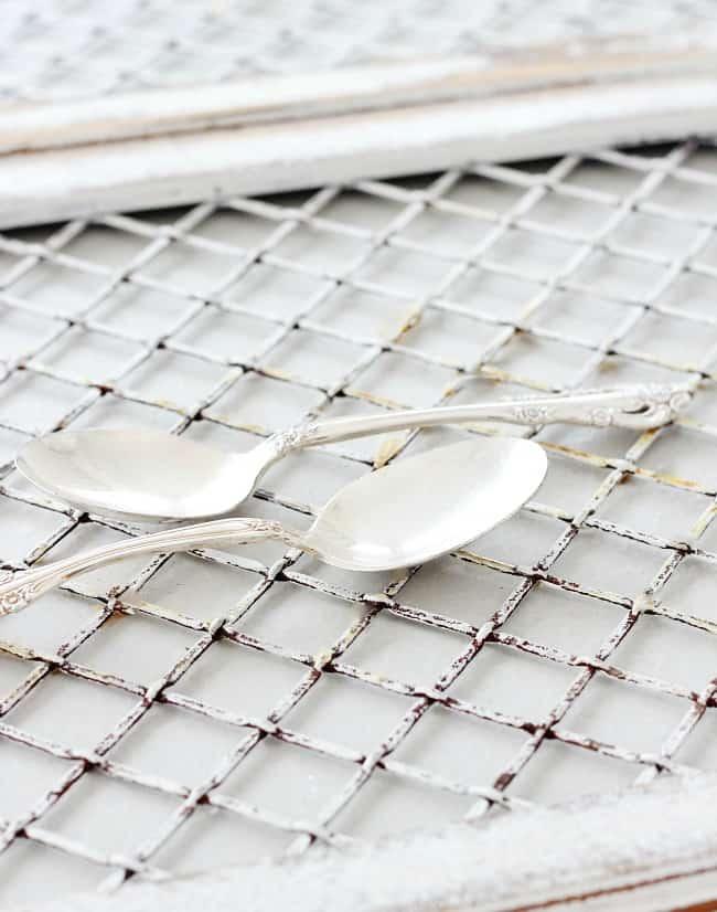 silver plate tea spoon