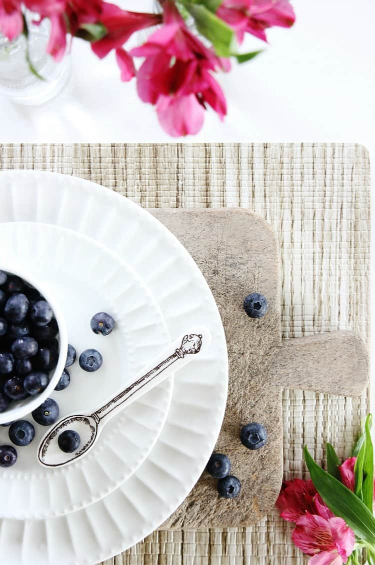 spring placesetting ideas