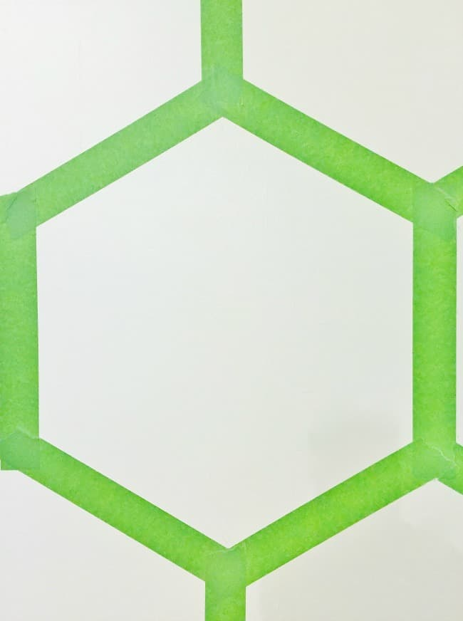 Hexagon Wall Close-up Picture
