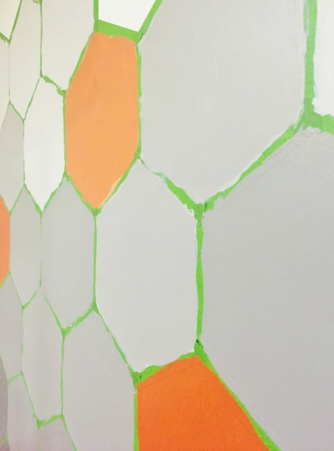 Hexagon Wall How To Picture